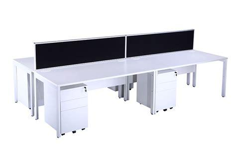 bench desks bench desking white city used office furniture
