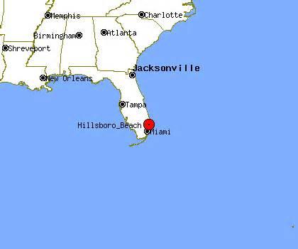 hillsboro florida map hillsboro fl map