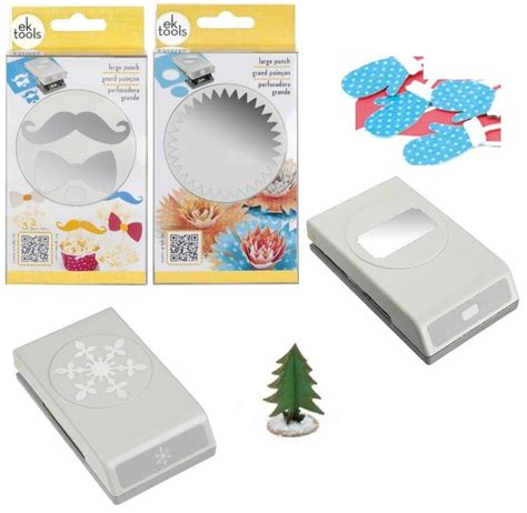 Paper Punches For Card - ek success tools large paper shaper punch scrapbook card
