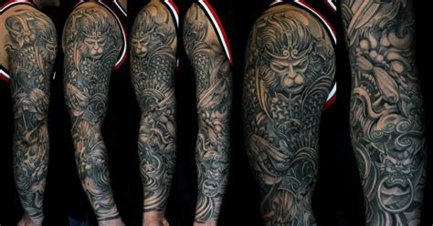 jimmy ho tattoo 60 monkey king designs for sun wukong ideas