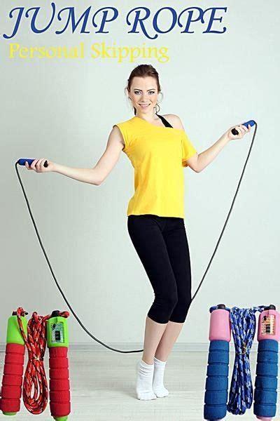 Murah Alat Kesehatan Olahraga Iron Alat Lompat Tali Skiping Speed tali skiping nomer