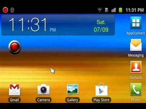 how to rotate the home screen of all samsung android