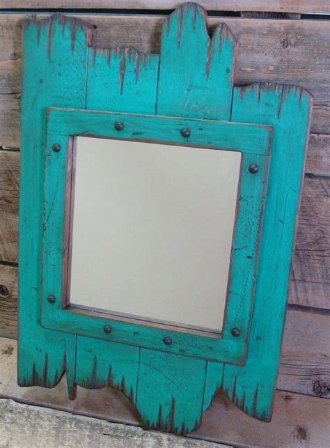 wood framed mirrors rustic wall mirrors milwaukee rustic wooden red barn wood mirror wood by
