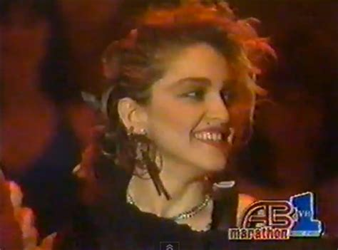 Madonnas Televised Appearance by Madonna