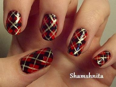 plaid pattern nails pinterest the world s catalog of ideas