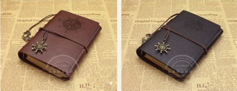 Buku Catatan Binder Note Cover Kulit With Kalkulator buku catatan binder kulit retro pirate coffee jakartanotebook