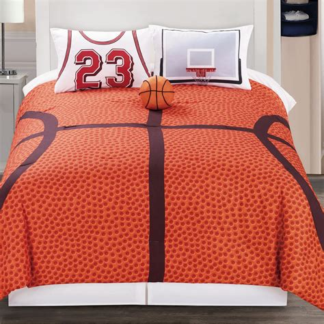 basketball court queen bedding comforter set twin full