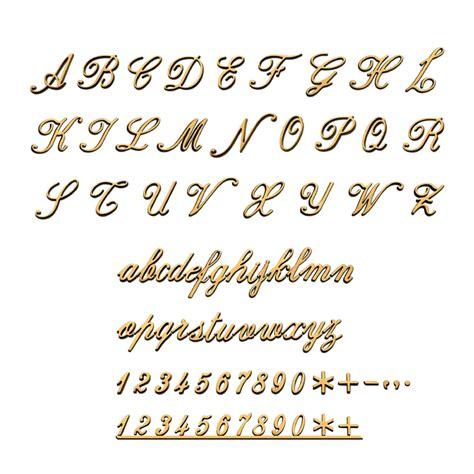 lettere corsivo funarte lettere corsivo inglese numeri sciolti da cm 3