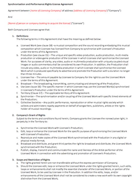 Graphic Artists Guild Letter Of Agreement Agreement Contract