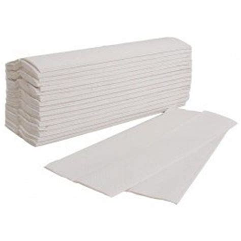 Folded Paper Towels - c fold paper towel white 2 ply 2400