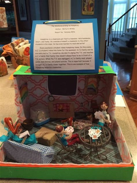 Parent Letter For Diorama the world according to humphrey diorama book report i