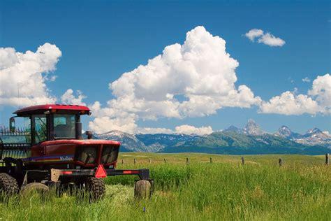 beautifully scenic rural farms  idaho