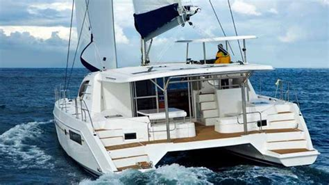 catamaran cruise nice france the moorings debuts crewed charters on the 4800 sail