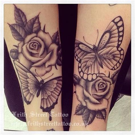 roses with butterflies tattoos 15 beautiful butterfly designs random talks