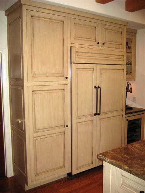 Antique Kitchen Cabinet Antique Kitchen 020 Custom Cabinets By Mahnken Cabinets