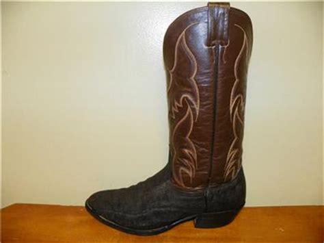 elephant skin boots nocona elephant skin cowboy boots size 10 d ebay