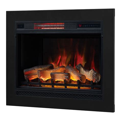 fireplace insert trim kit classicflame classicflame 28 in 3d spectrafire plus infrared electric