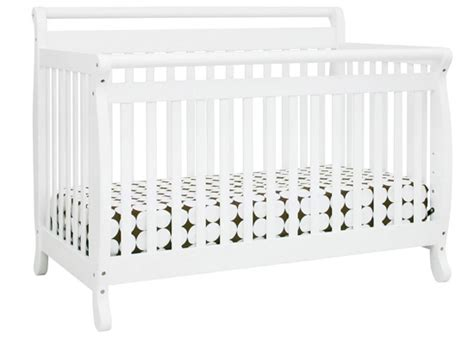 Emily Crib In White Million Dollar Baby Mini Crib