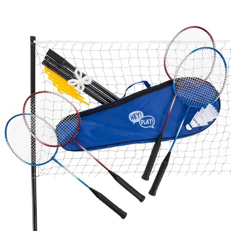 backyard badminton set badminton outdoor yard set m350023 the home depot