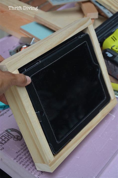 tablet wall mount diy how to make a diy tablet holder for your wall