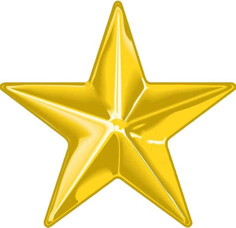 Good Star Christmas Tree Topper #5: Gold-star-png--new-calendar-template-site-7.png