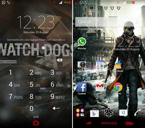 google theme gta 5 install xperia watch dogs and gta v theme