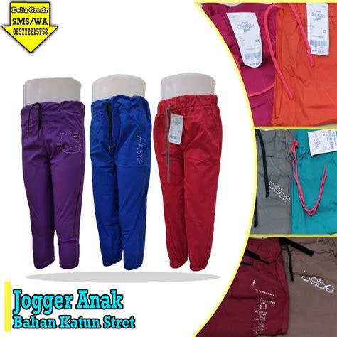 Celana Joger Anak By Tujuhwarna konveksi celana joger anak murah kulakanbaju