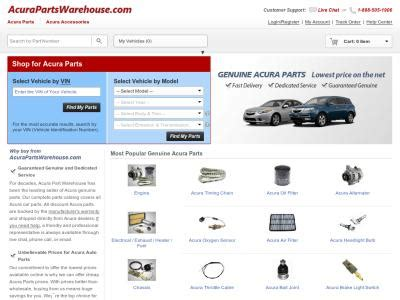 acura parts warehouse acurapartswarehouse delivery from