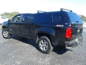 newer chevrolet colorado gmc canyon   series truck topper  toppers emerys