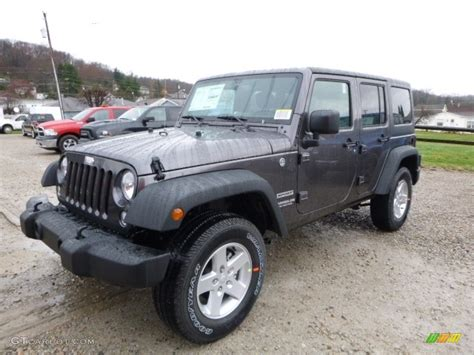 granite jeep 2016 granite metallic jeep wrangler unlimited