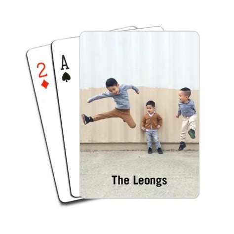 Personalized Gifts Playing Cards - photo gallery playing cards custom playing cards shutterfly