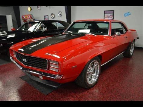 4 door camaro for sale 1969 chevrolet camaro prostreet automatic 4 door sedan for