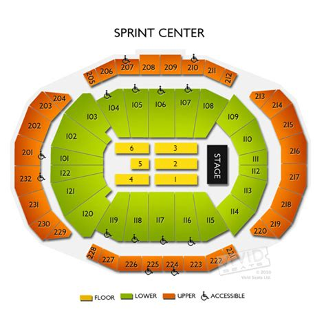 sprint center floor plan sprint center tickets sprint center information sprint