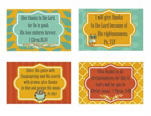 free printable give thanks scripture cards second chance to