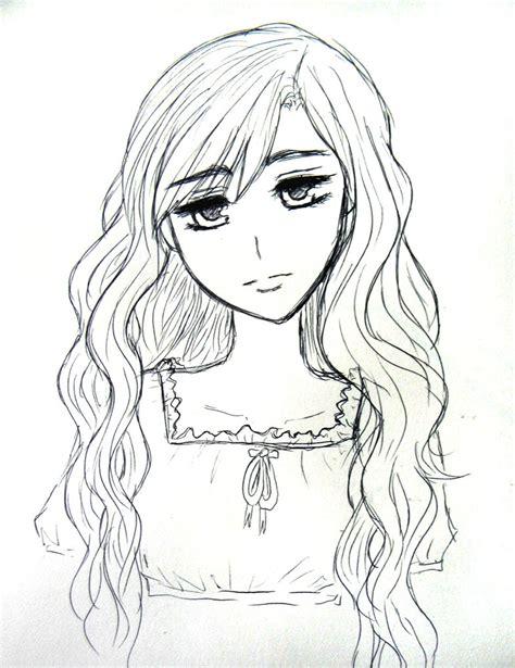 anime curly hair wavy hair by natsunohuyana on deviantart