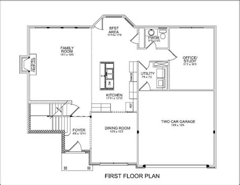 One Story House Plans With Two Master Suites by Jackson Ii Floor Plan Update