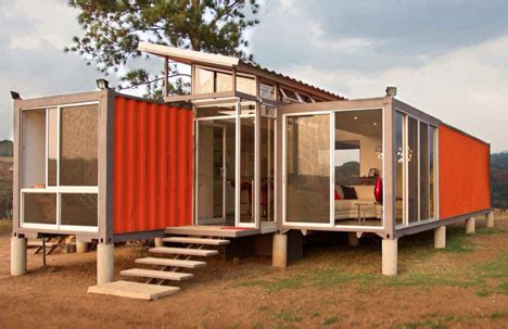 containers of cheap modern cargo container home