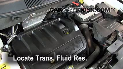 transmission fluid level check jeep compass (2011 2017