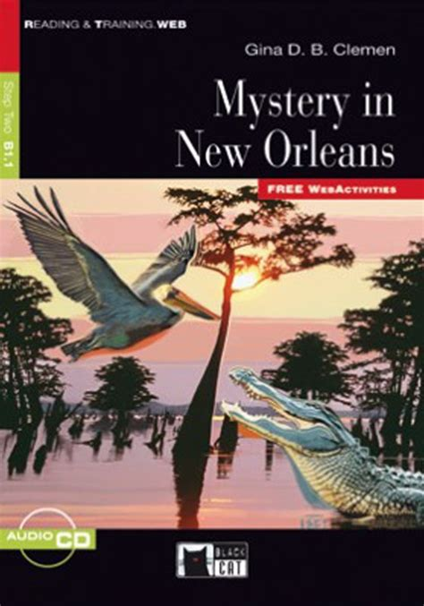 mystery in new orleans step two b1 1 reading training readers catalogue aheadbooks