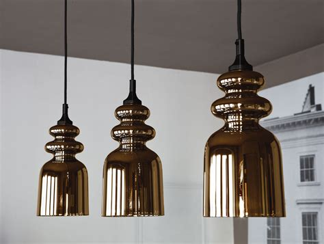 Hanging Pendant Lighting Nella Vetrina Messalina Contardi So Hanging Brown And Chrome