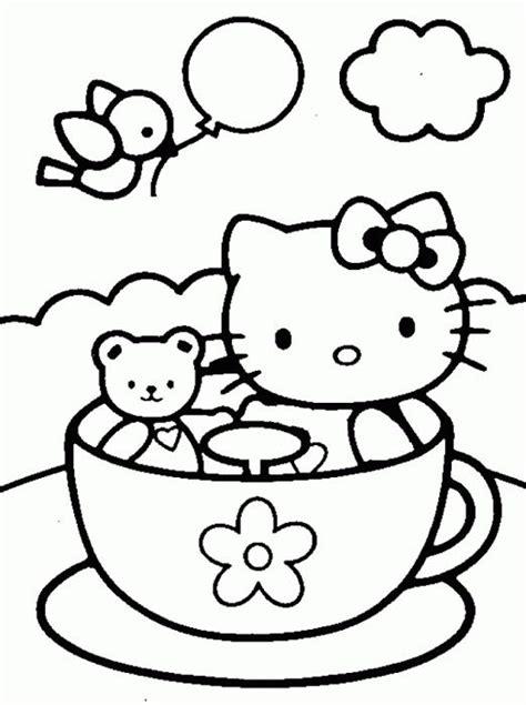 imagenes de kitty para imprimir y colorear dibujos para colorear de hello kitty 8 pasos uncomo