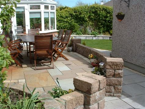 patio designs the key element to enhance and accessorize paved raised patio elements garden landscape design
