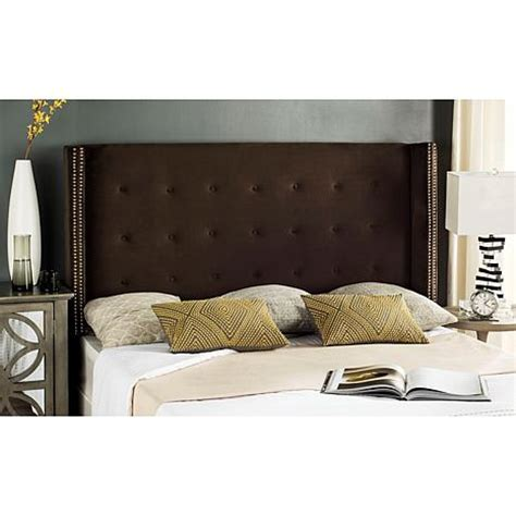 Clearance Tufted Headboard Safavieh Keegan Velvet Tufted Wingback Headboard