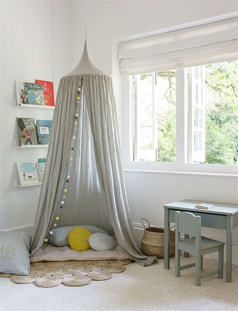 shared children s bedroom with numero 74 canopy in a