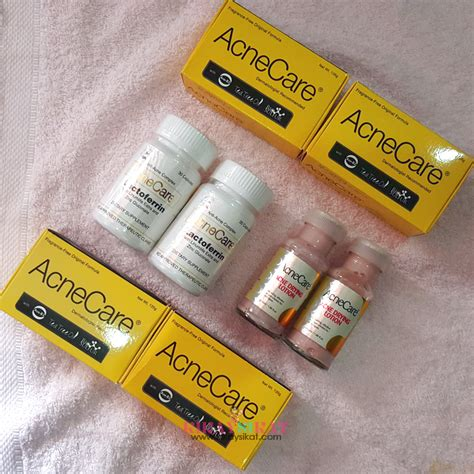 Acne Care Set acne care w lactoferrin review did it work for me