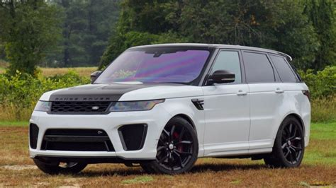2019 Land Rover Svr by The 2019 Range Rover Sport Svr Packs Performance Into A