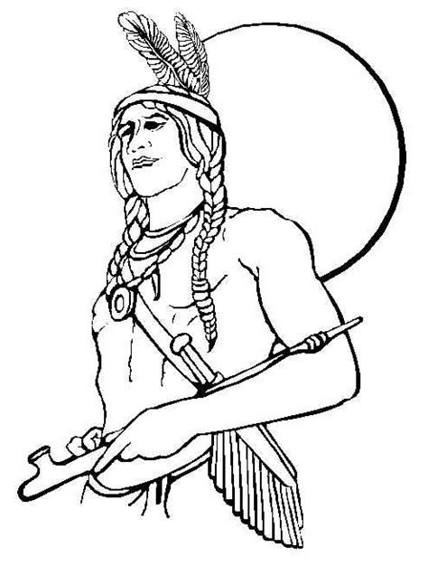 little girl pilgrim coloring page thanksgiving coloring pages of native americans of indian