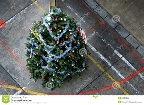 christmas tree stock photo image of style decoration