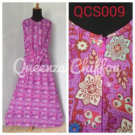Gamis Jersey Bunga 3 jual gamis jersey motif bunga murah wanita pabrik kulakan