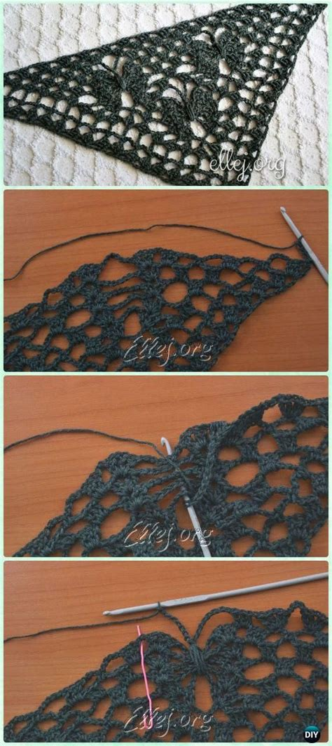 Pashmina Instan Motif Butterfly 17 best images about crochet stitch inspiration on hairpin lace shawl and ravelry